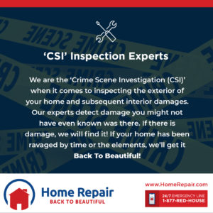 Home Repair: 'CSI' Storm Inspectors On Your Side